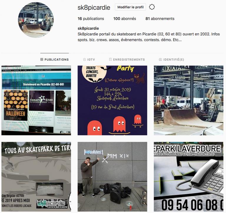 Instagram Sk8picardie Oct 2020