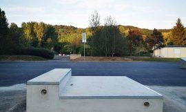 Ligne de Langevin au skatepark de Clairoix