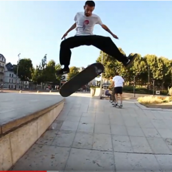 THS The House of Skate : Skate à Rouen avec Adrien Bulard – nov 2019