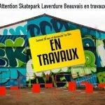 MaJ Fermeture du skatepark Laverdure le 30/11 et 01/12/2019 pour travaux !