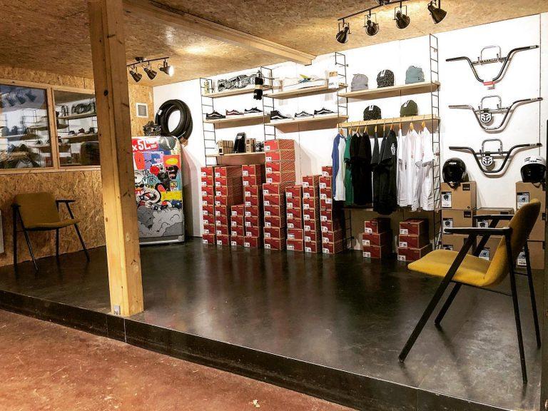 Ouverture d'un pro shop Vans au 80100 skatepark