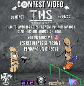 Contest vidéo THS sur insta' jusque fin 7 février 2020