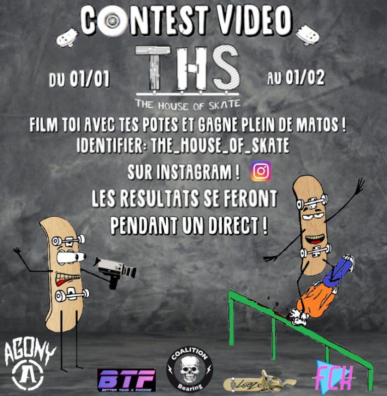 Contest vidéo THS sur instagram janvier 2020