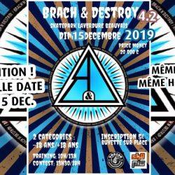 Beauvais, Contest Brach'N'Destroy 4.2 décalé au dim. 15 déc. 2019