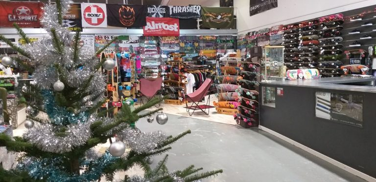 Un cadeau de Noël Skateboard avec Overskate Amiens