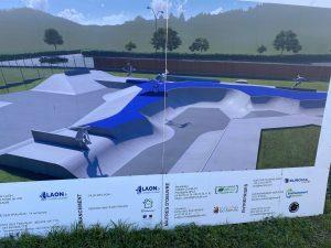 Maj. Construction du Skatepark de Laon Février 2020