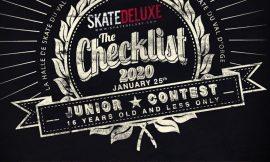 Contest Checklist 2020 pour les moins de 16 ans au skatepark du Val d'Orge