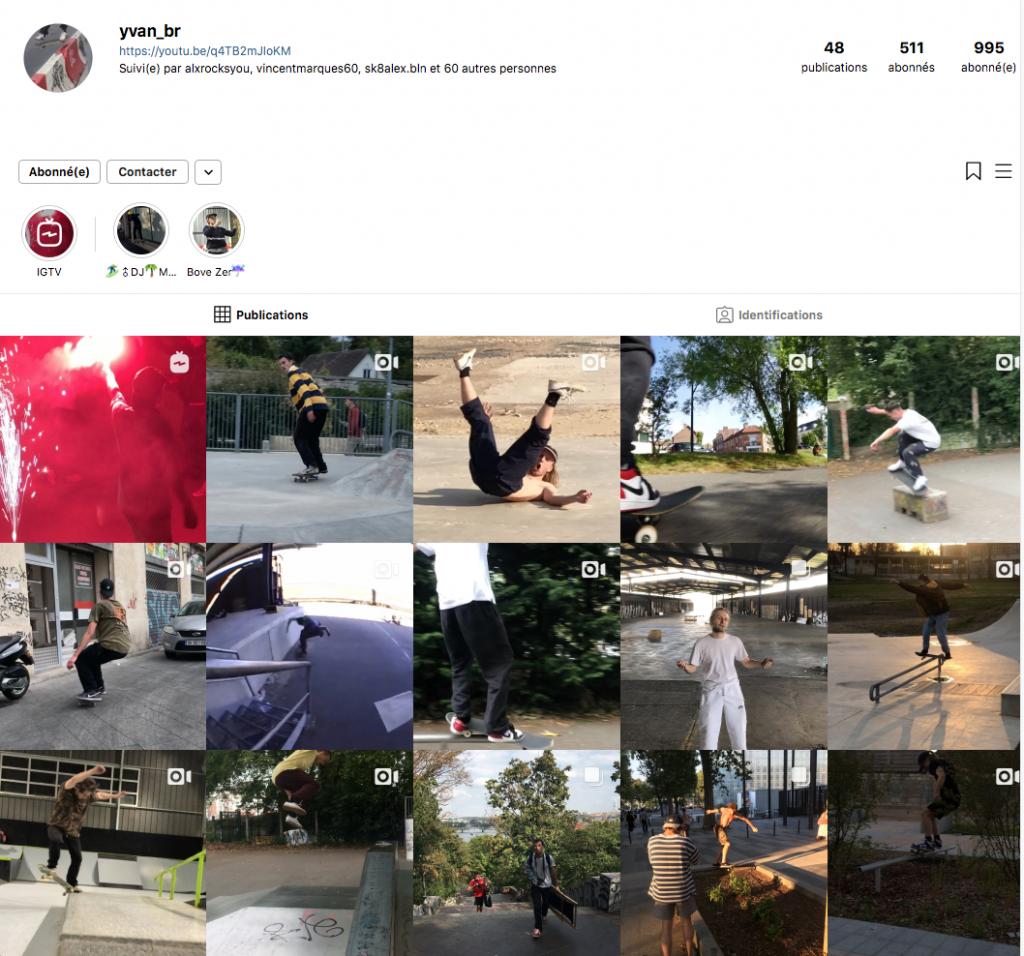 Chaos skateboard et conneries monté par Yvan Br